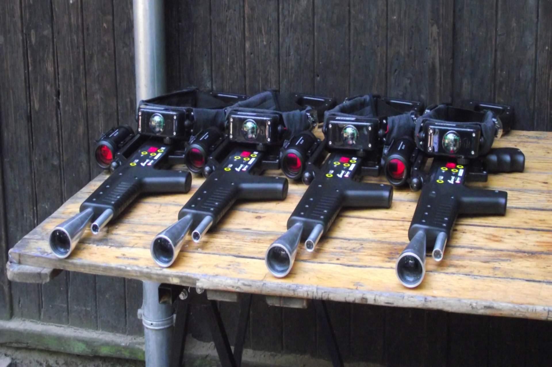 laser guns tafel